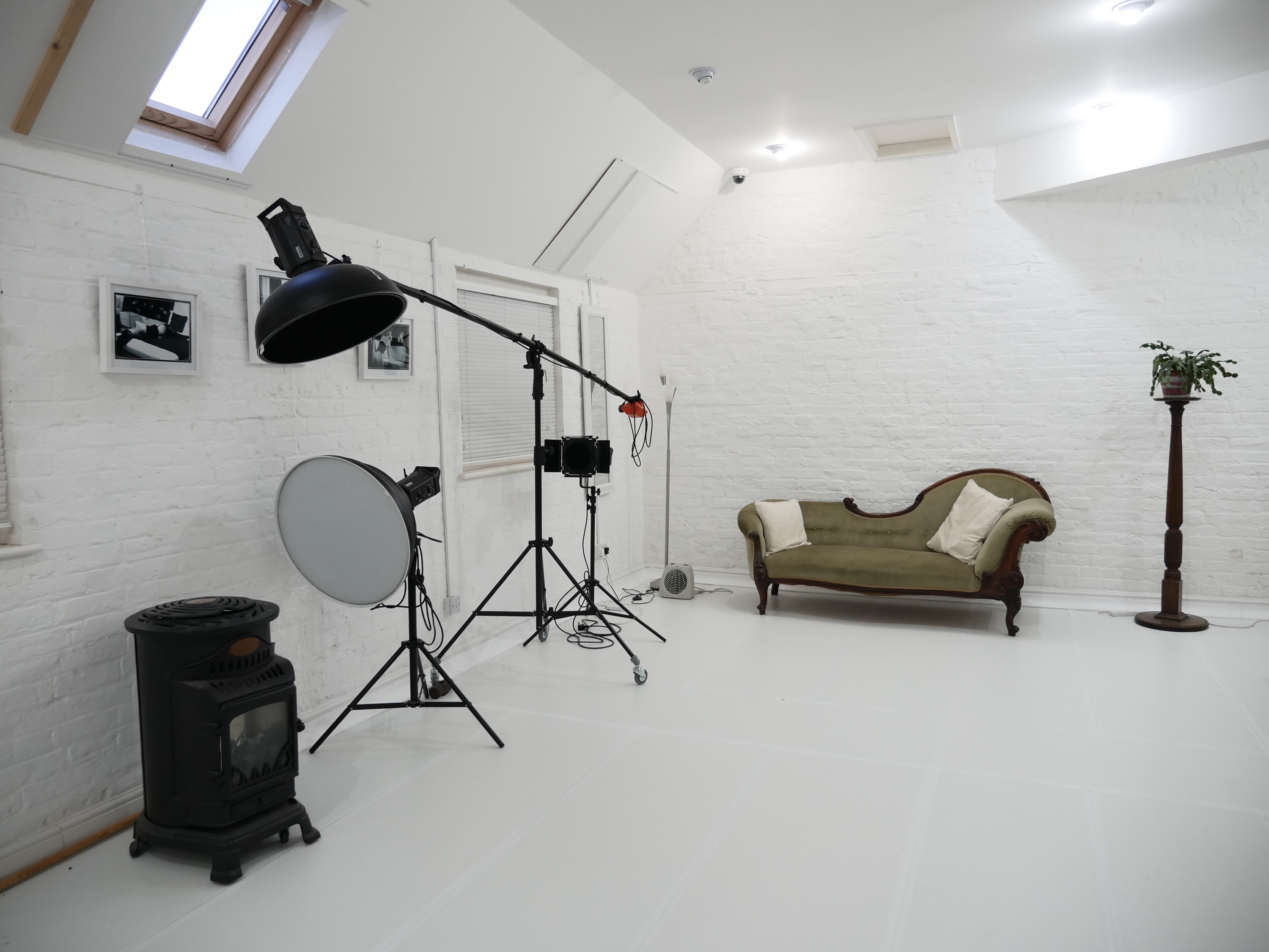 Cached Natural light photo studio